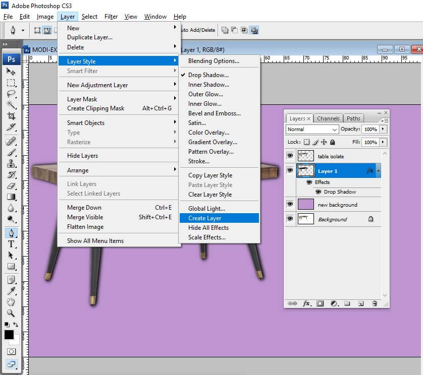 how-to-add-drop-shadow-in-photoshop
