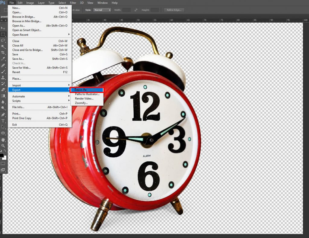 how-to-make-photoshop-background-transparent